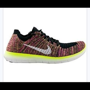 New Nike free rn flyknit running shoes